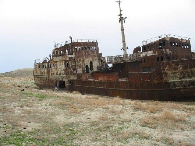 корабли пустыни Арал
