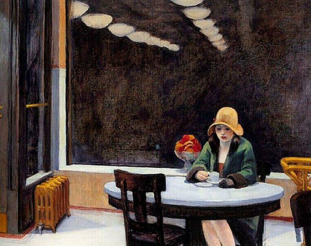 Automat 1927_Hopper,Edward(1882-1967);