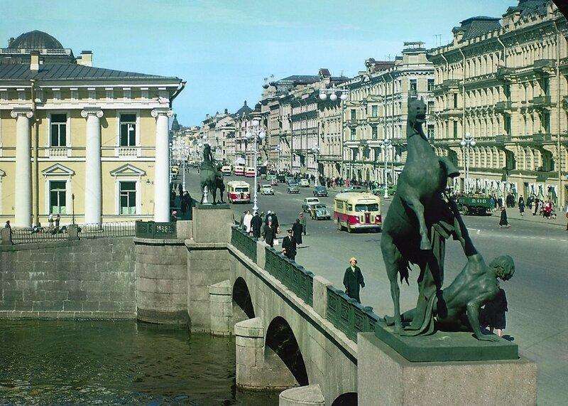 1953-57 Аничков мост. Илья Голанд.jpg