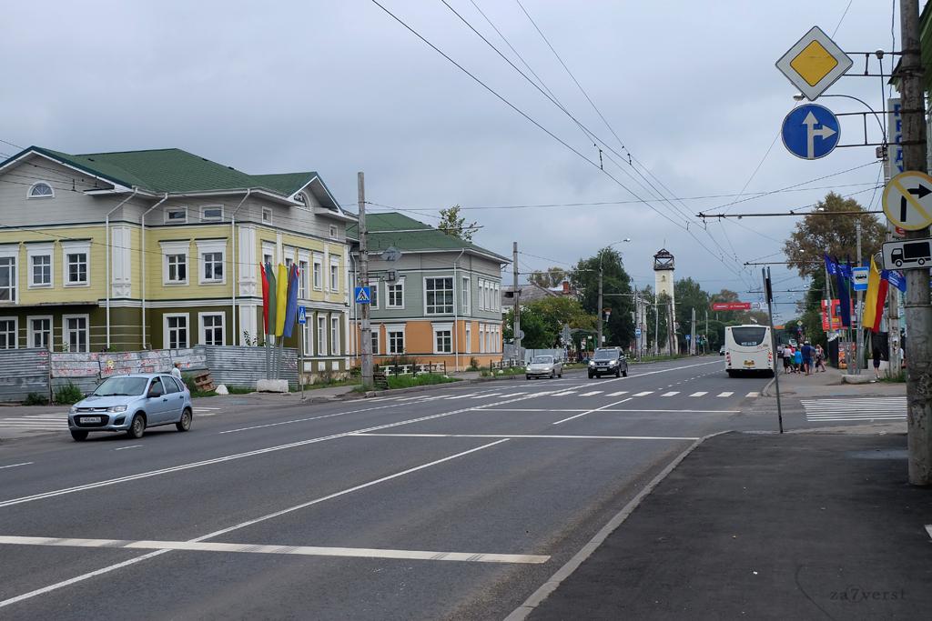 Вологда, пожарная каланча
