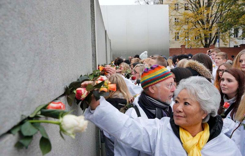 Столица Германии готовится праздновать 25 летие падения Берлинской стены