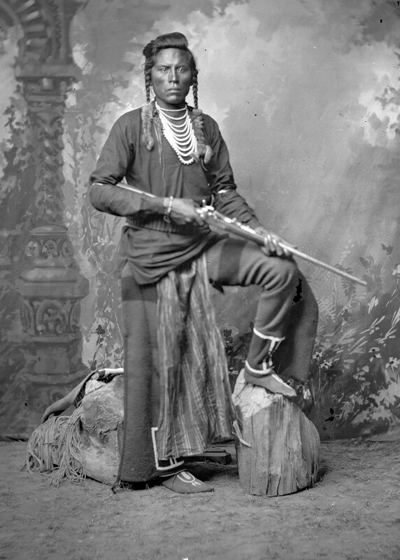 Curley, Crow Scout, 1880s