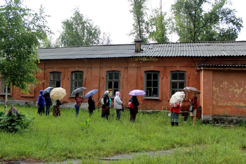 С московскими туристами. 16.07.2015