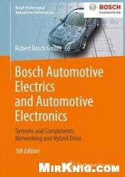 Книга Bosch Automotive Electrics and Automotive Electronics