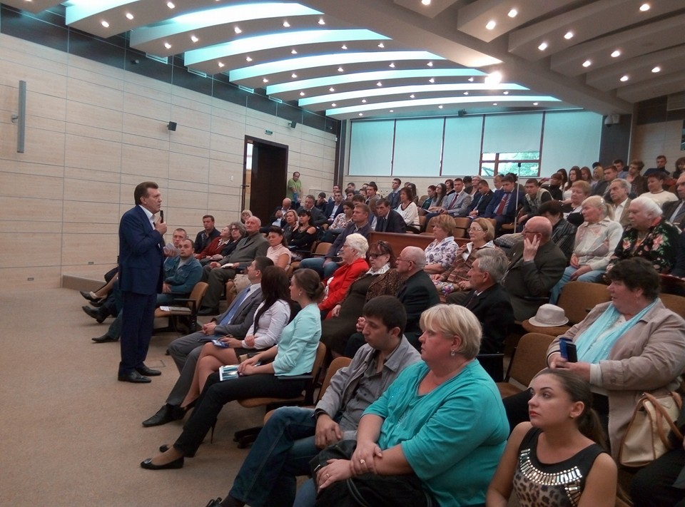 Сергей Кивалов презентует План спасения Одессы