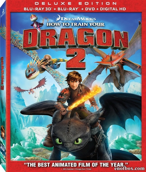 Как приручить дракона 2 / How to Train Your Dragon 2 (2014/BD-Remux/BDRip/HDRip/3D)