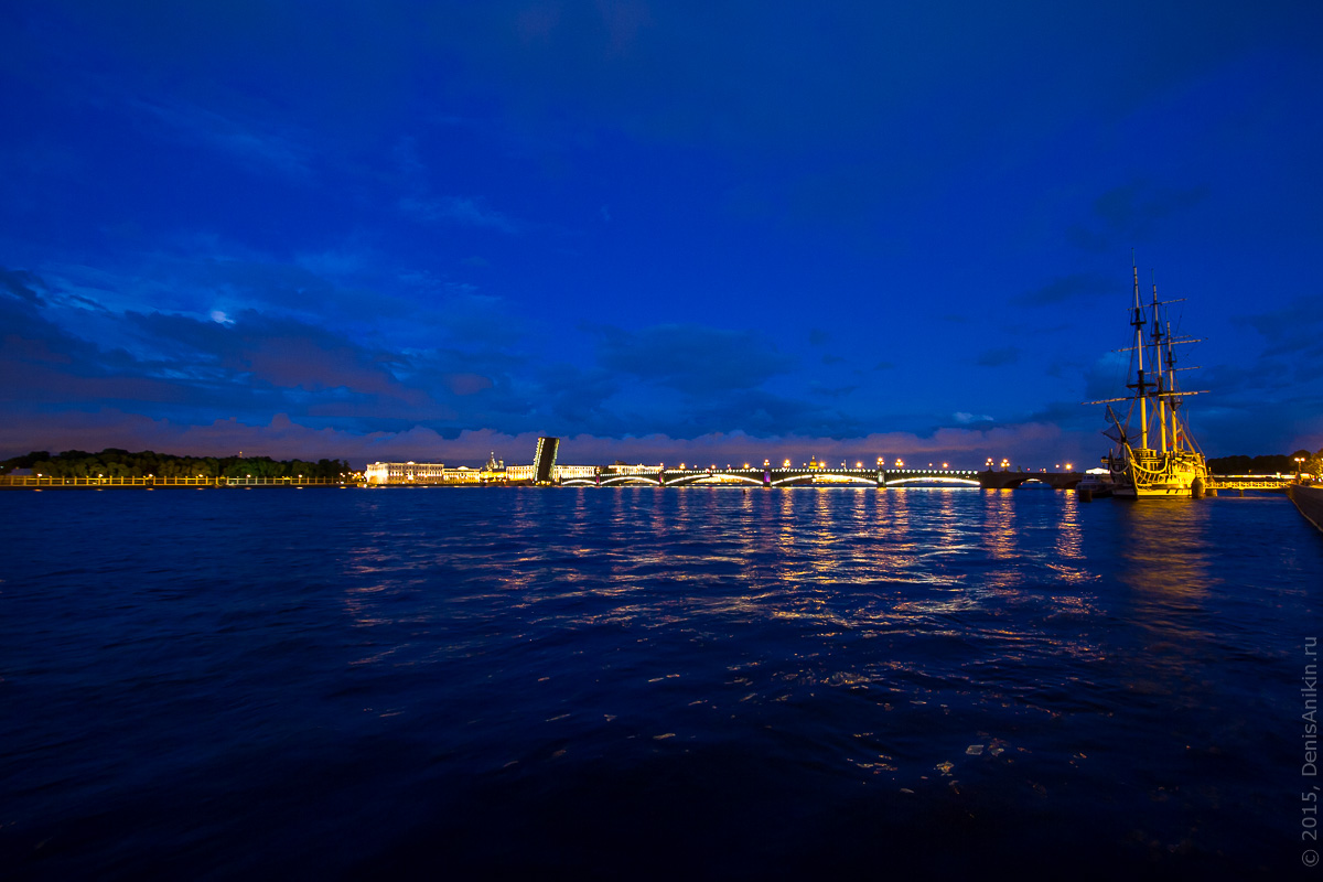 Санкт-Петербург развод мостов 13