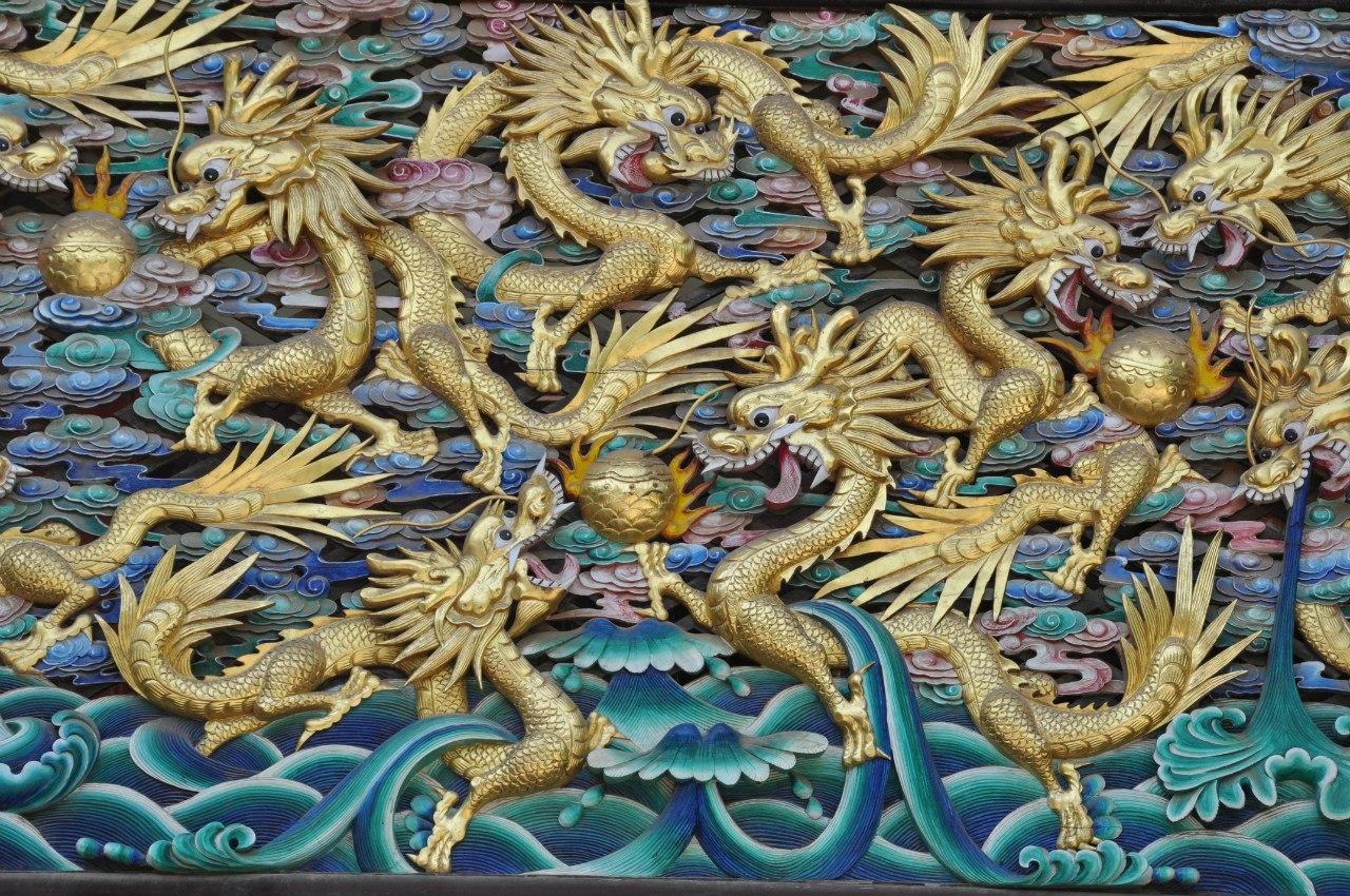 Китайские дракошки ферментируют чай ;-)