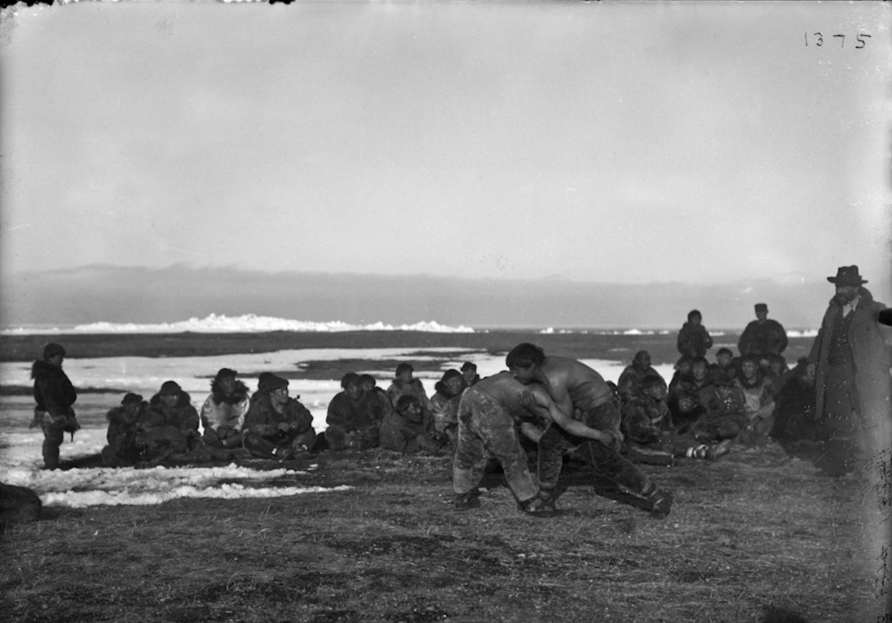 Борьба. 1901