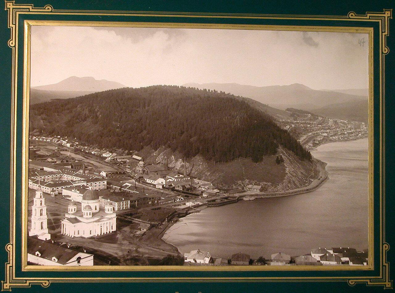 47. Вид на город со стороны реки. Златоуст