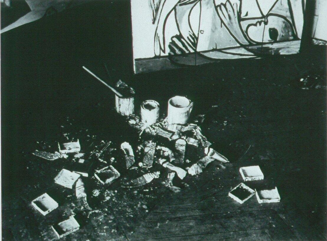1932. Палитра Пикассо
