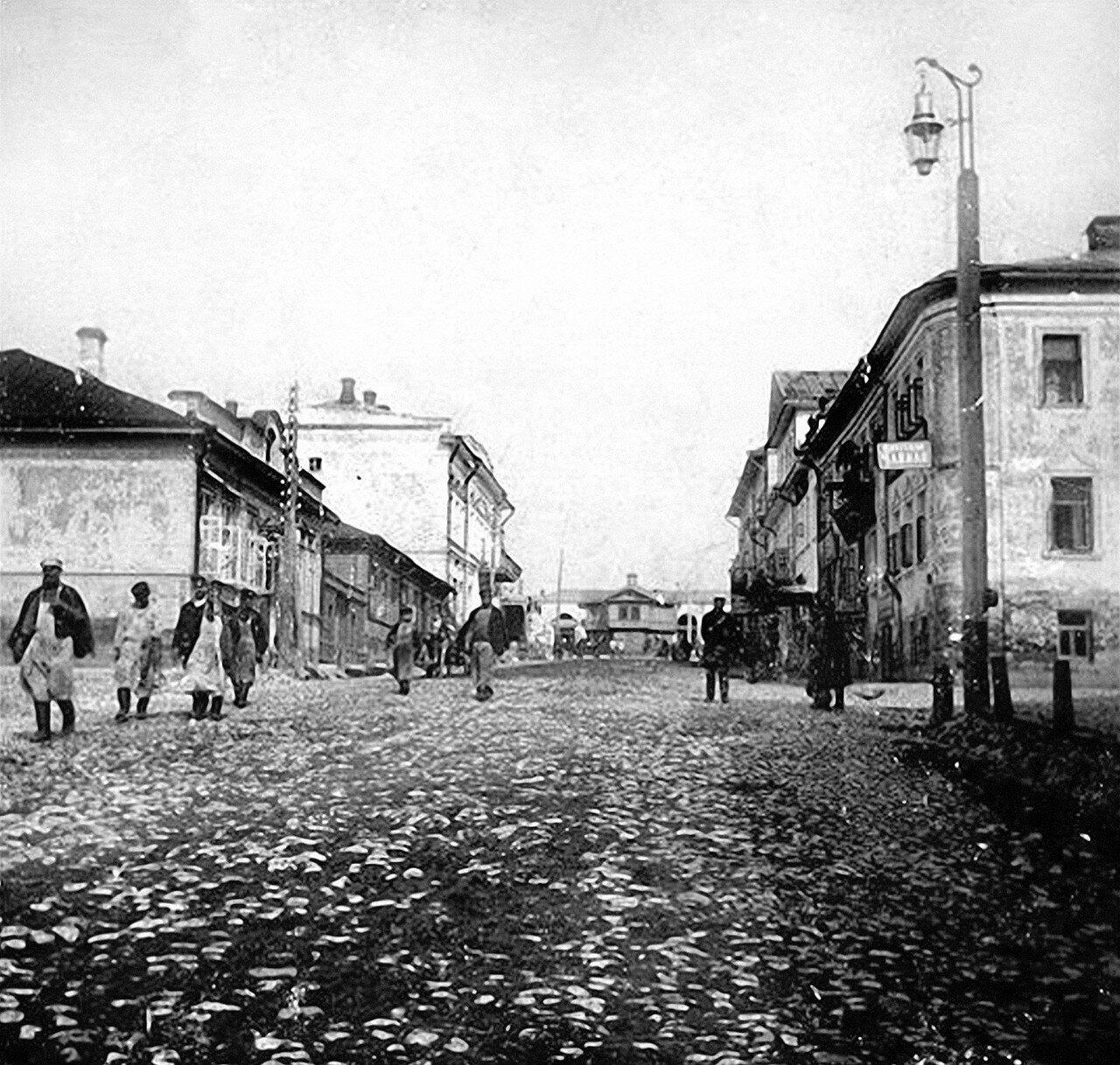 Вид Коломенской улицы в сторону Торговой площади