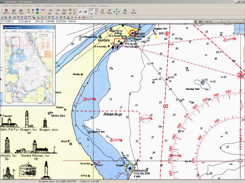 Шведские навигационные карты Балтики (2002)