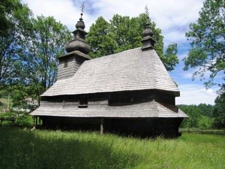 Святодуховская церковь в Гукливому