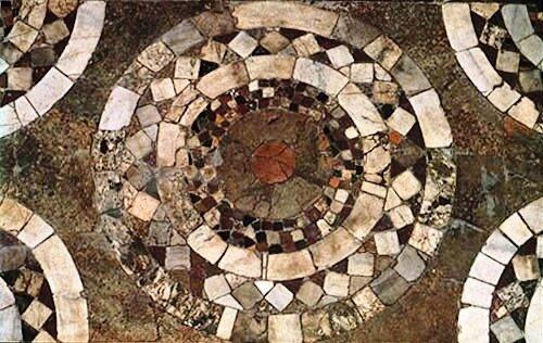 Богородица Десятинная.Мозаичные полы