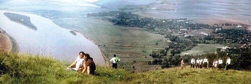 Фото села Бакота до затопления: с сайта НПП  «Подольские Товтры».