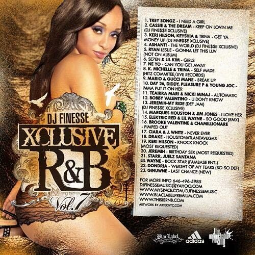 DJ Finesse - Xclusive R&B 7 (2009)