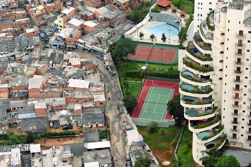 грань богатства и бедности