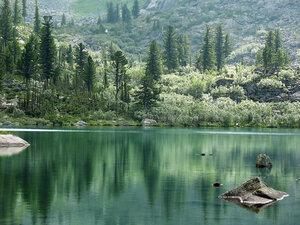 Зеркало озера Радужное