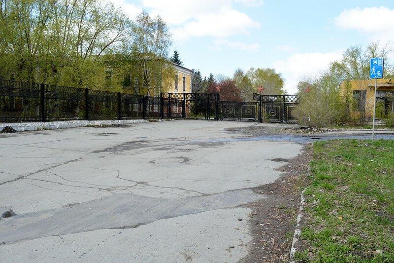 Бывшее танковое училище