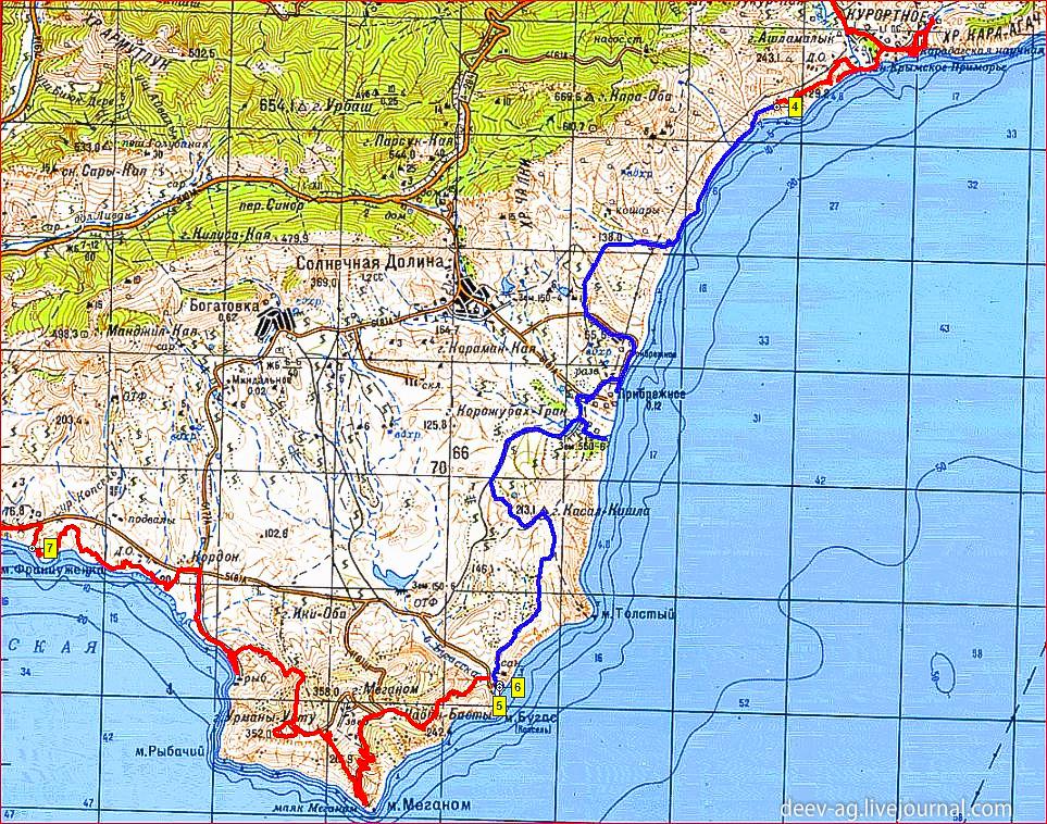 Крым. Май-июнь 2015г. 28 мая, день 5.