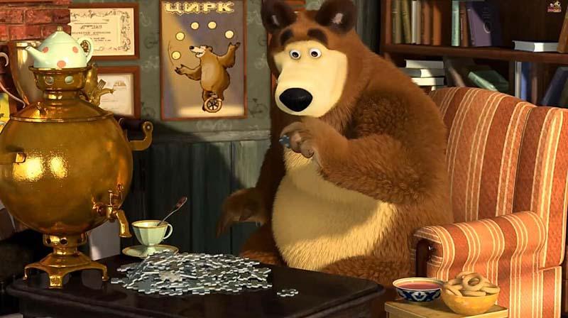 Картинки Мультфильм Маша и Медведь