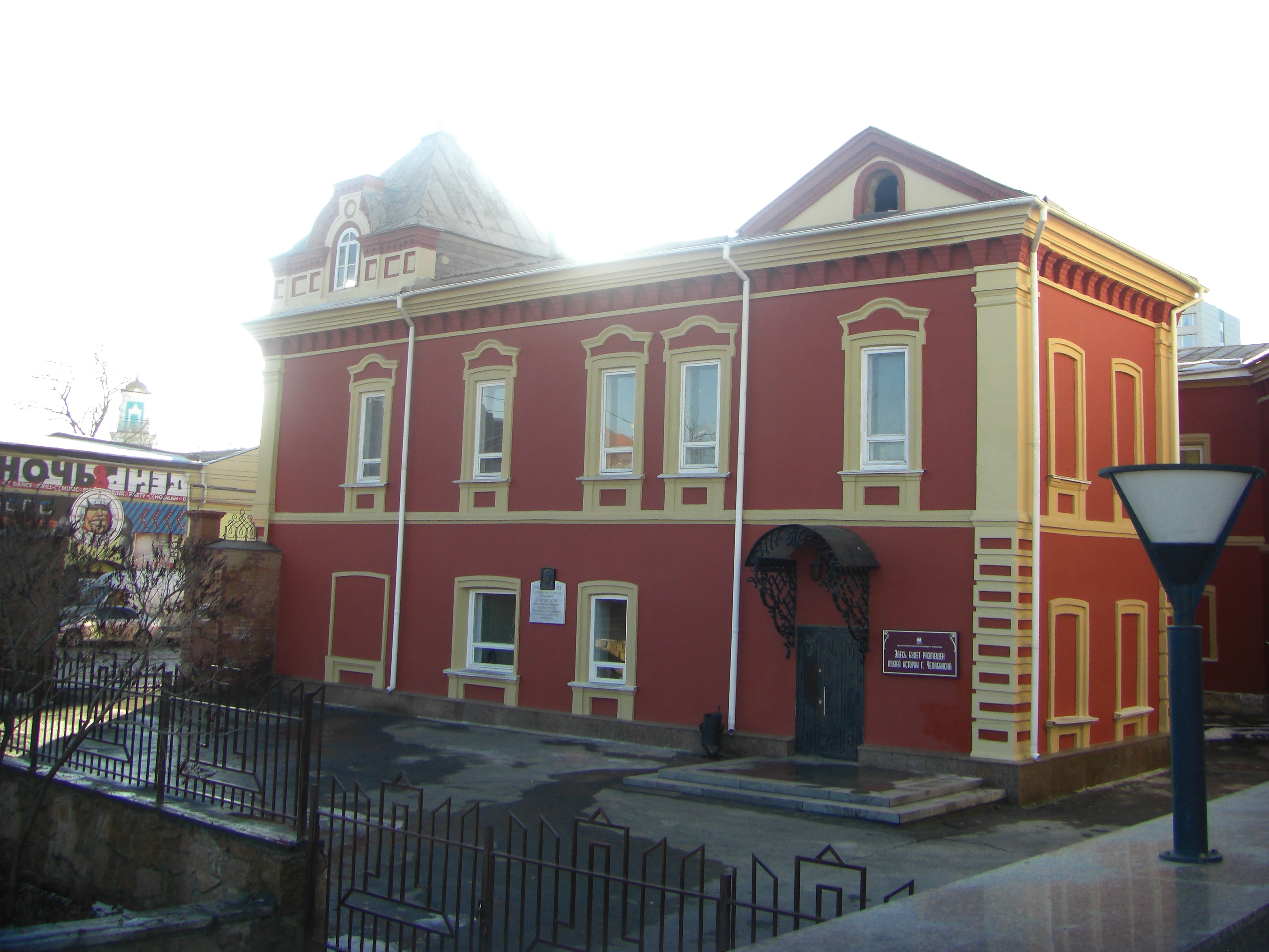 Здание признано памятником архитектуры XIX века (10.11.2014)