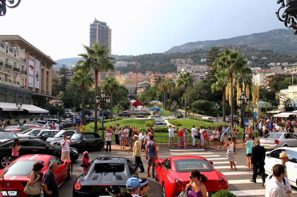 Монте- Карло со ступеней казино
