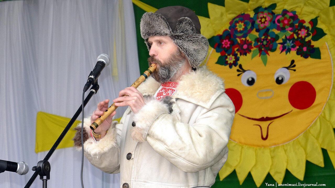 Ягорава Гара на Масленице в Советском р-не. Гомель