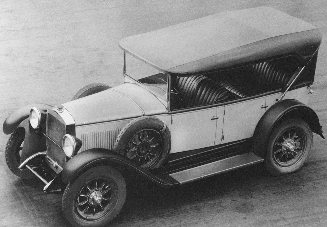 8 Alfa Romeo 6C 1500 Sport (1928)