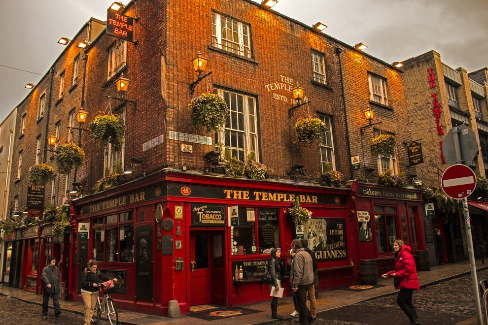 11. The Temple Bar , Дублин