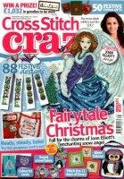 Книга Cross Stitch Crazy Issue 171 декабрь 2012+Free