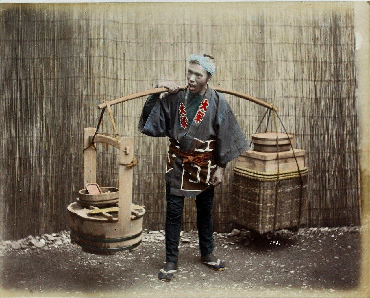 Продавец маринованных овощей