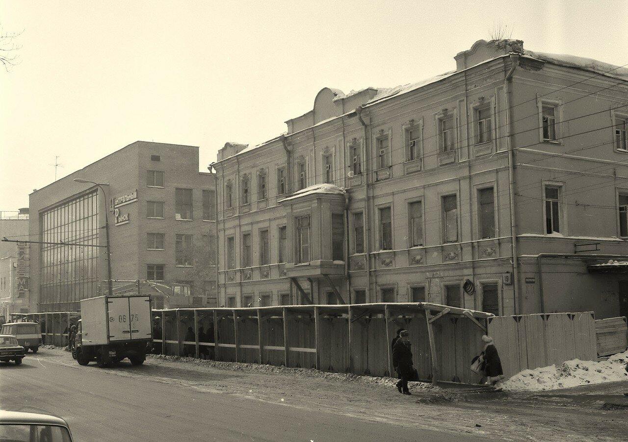 1985. Цветной бульвар, дом 19