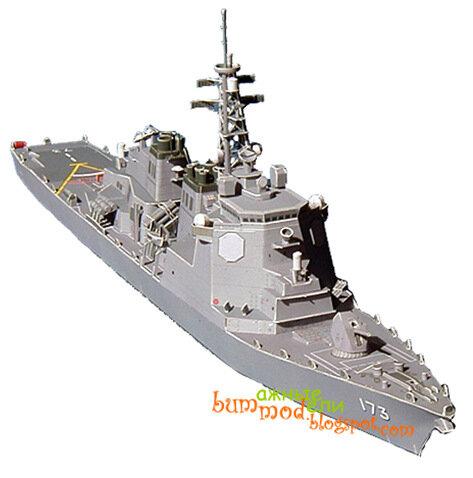 корабля · Бумажная модель