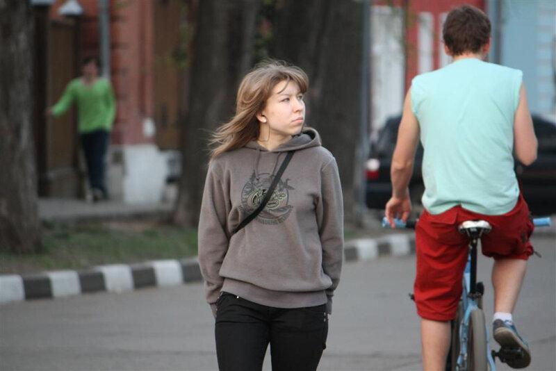 Вечер на Школьной и у Новоспасского монастыря