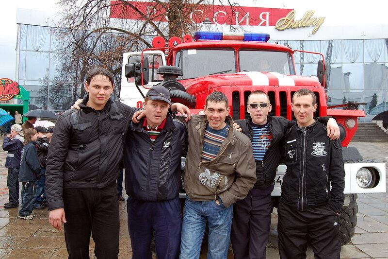 Демонстрация пожарной техники