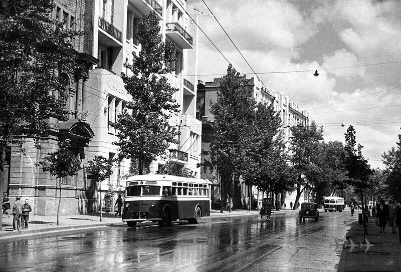 Старые троллейбусы