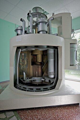 Макет реактора БН-600