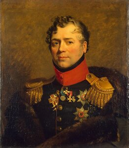 Geo Dawe 1823-1825 S-Peterburg, Winter Palace War Gallery Дмитрий Владимирович Голицын. Московский военный генерал-губернатор
