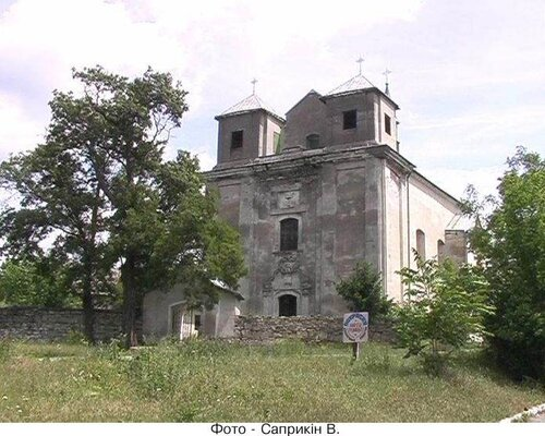 Жванец.Армянский костёл XVII века