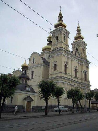 Винница. Преображенский собор.Фото с сайта Фотогалерея Винницы