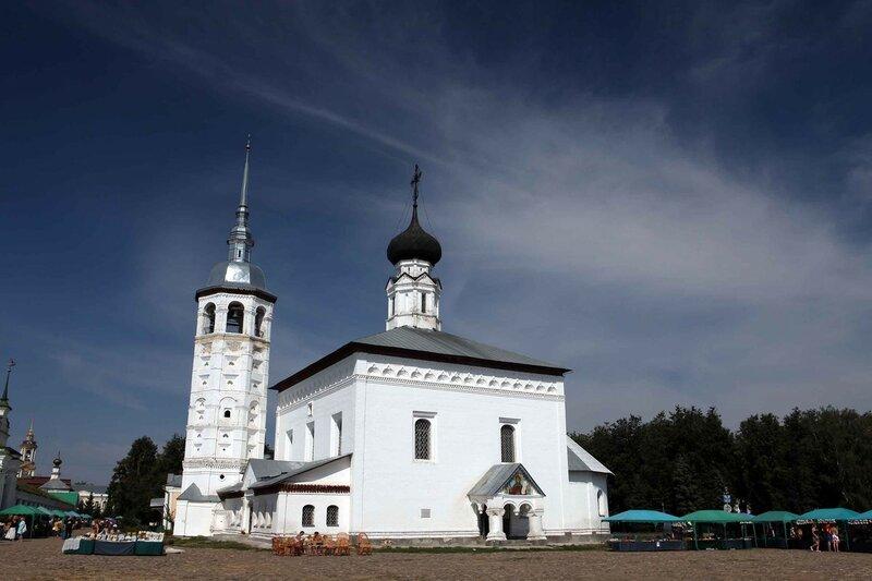 Суздаль - Воскресенская церковь
