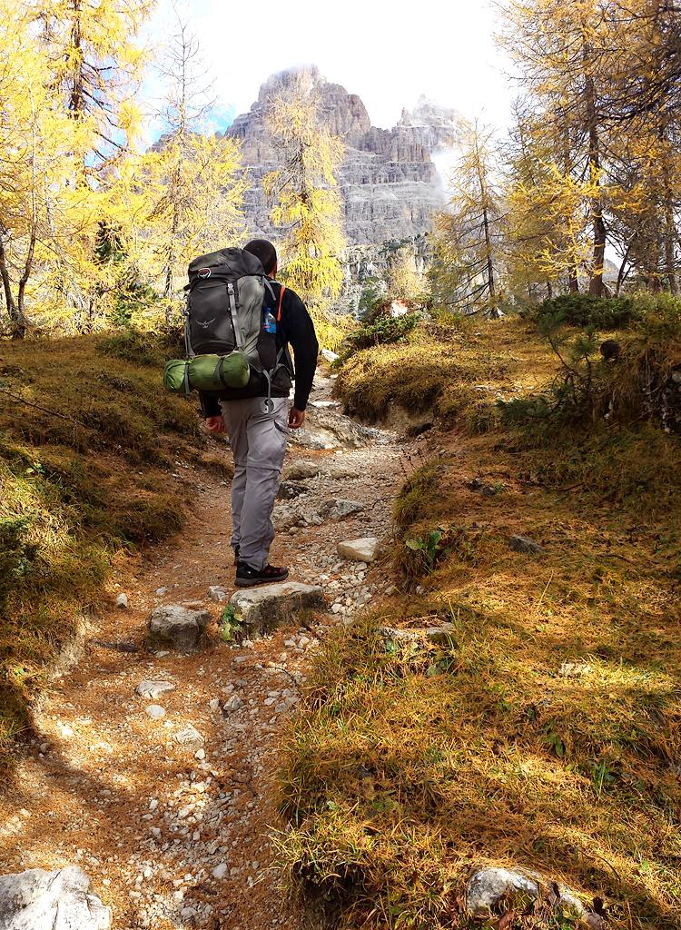 Золота осінь в Доломітах