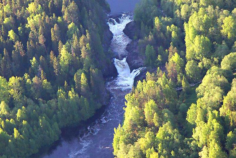 Водопад Кивач. Часть 2