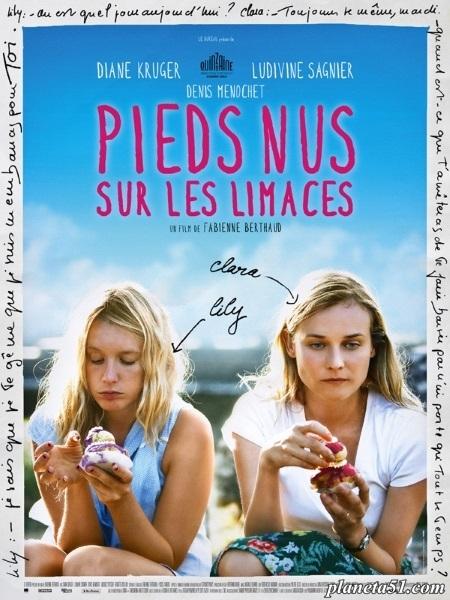 Босиком по слизнякам / Pieds nus sur les limaces (2010/HDRip/HDRip-AVC)