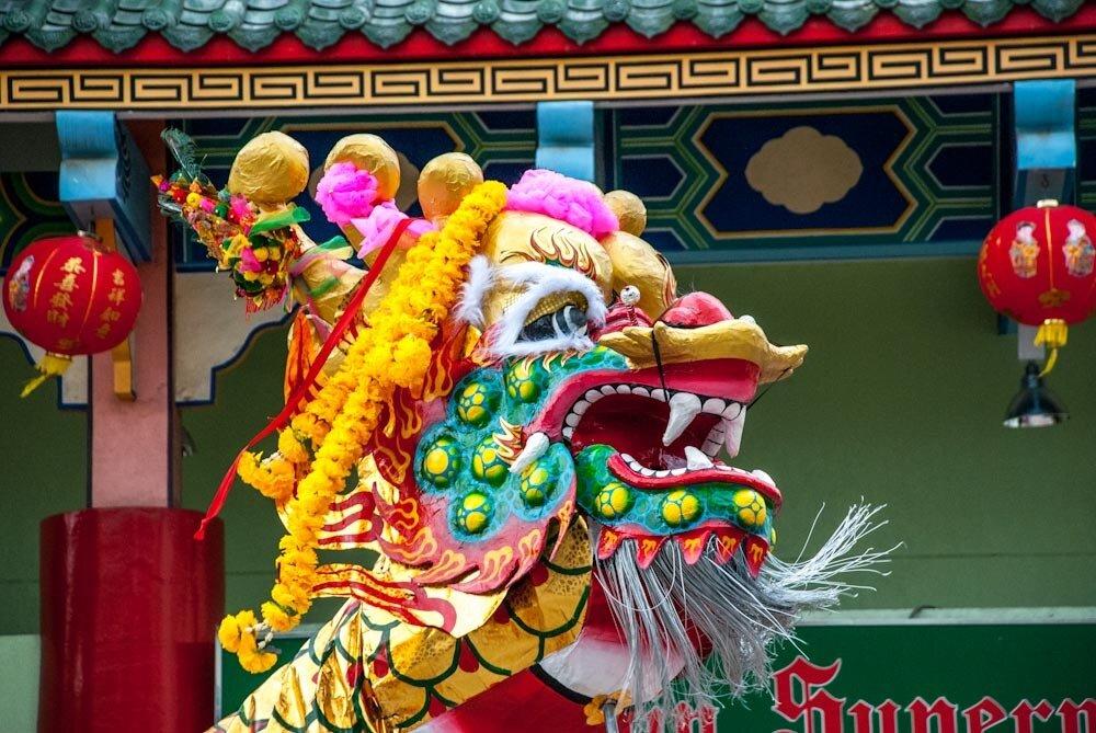 Китайский новый год в Паттайе