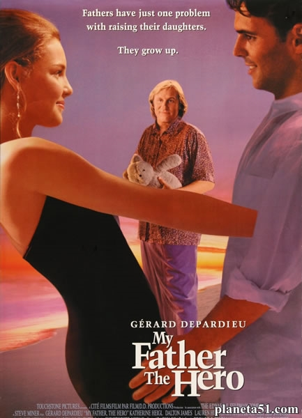 Мой отец – герой / My Father the Hero (1994/HDRip/BDRip)