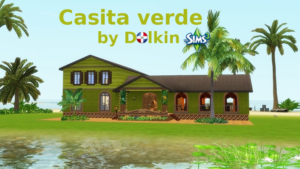 Casita verde by Dolkin