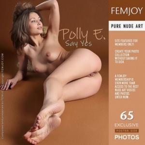 """Журнал Журнал Femjoy. Polly E. """"Say Yes"""""""
